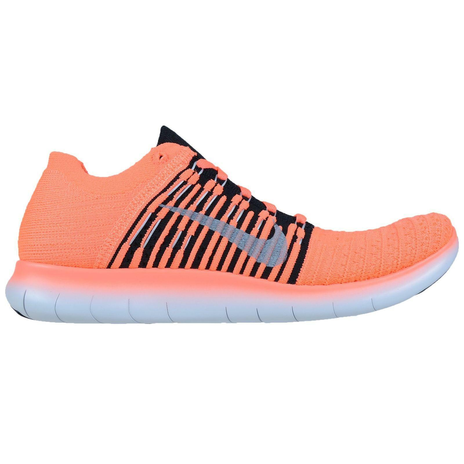 Mens NIKE FREE RN FLYKNIT Running Trainers 831069 801