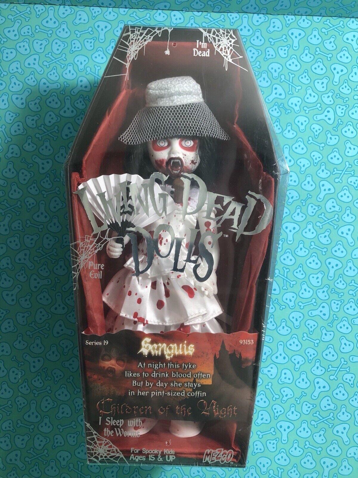 Living Dead Dolls SANGUIS VARIANT - Series 19 - SEALED - Vampire