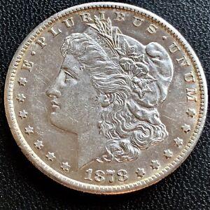 1878-CC-Morgan-Dollar-Carson-City-Silver-1-RARE-High-Grade-UNC-PL-20559