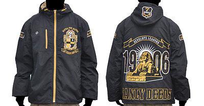 Alpha Phi Alpha Fraternity Windbreaker Jacket Alpha Manly Deeds Jacket M-5X NWT