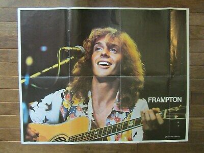 OP-646 8X10 PUBLICITY PHOTO PETER FRAMPTON ENGLISH ROCK MUSICIAN