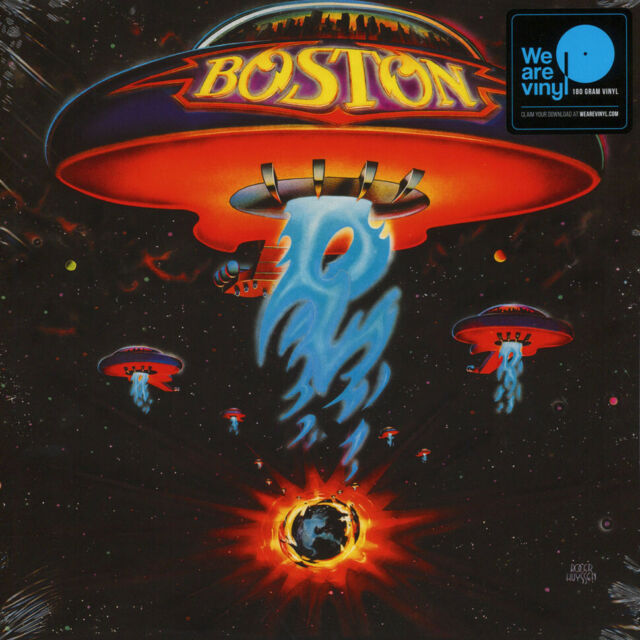 Boston - Boston (Vinyl LP - 1976 - EU - Reissue)