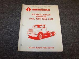 1991 International 2574 2654 4600 4700 4800 7100 8100 8200 ...