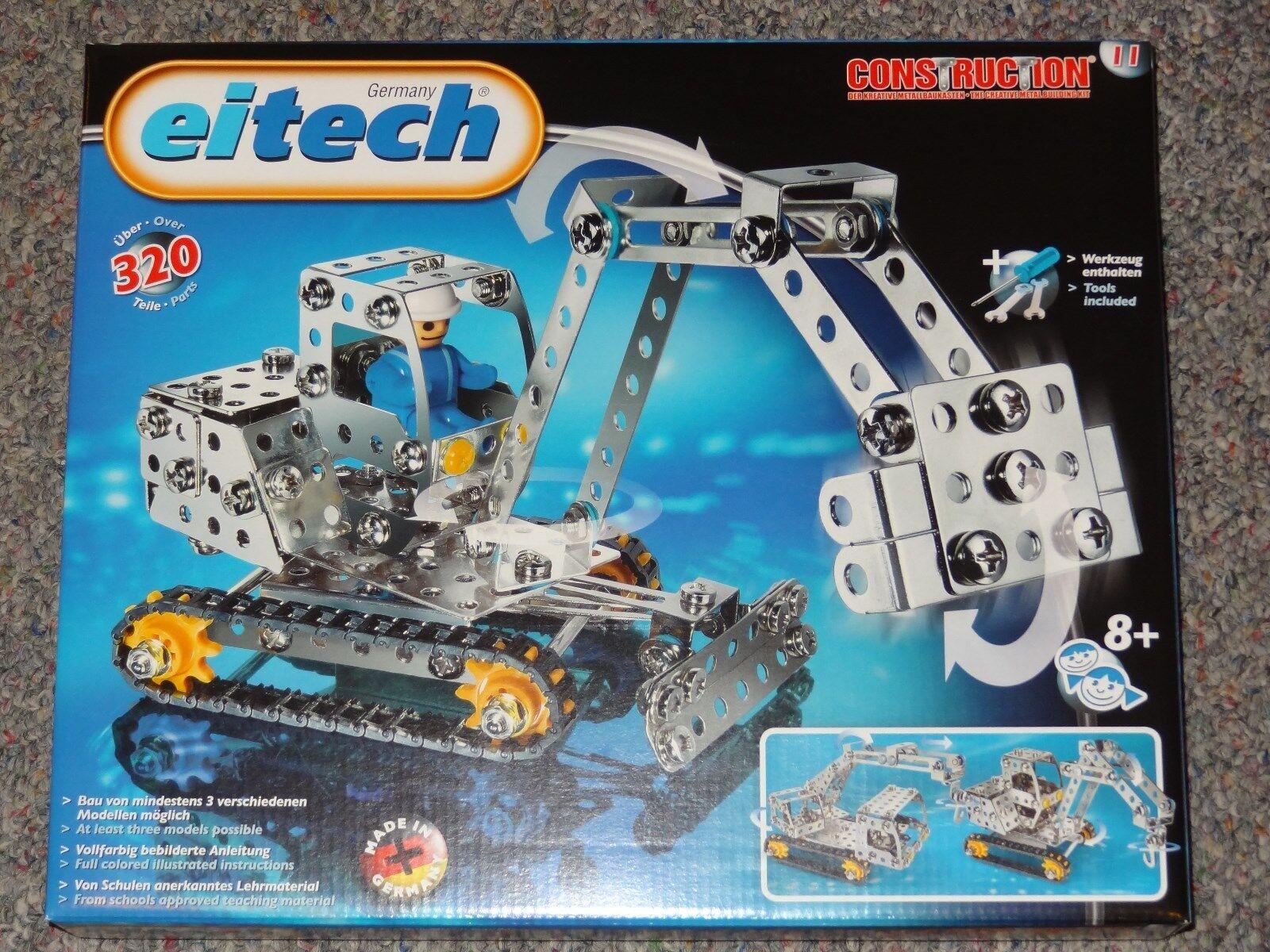 Construction Vehicles Eitech C11 Metal Construction Building Toy Steel Model Kit