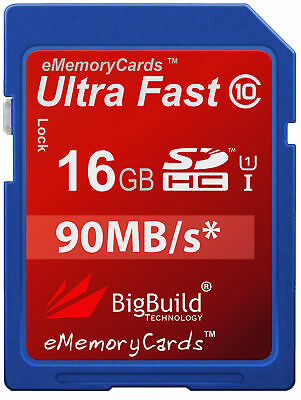 32GB SDHC HC-SD High Speed Class 10 Memory Card for Panasonic Lumix DMC-FX48 Digital Camera
