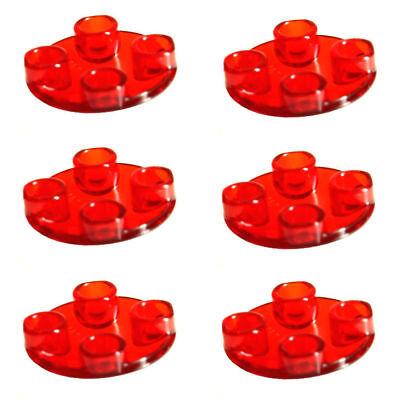 10x LEGO® 2654 2x2 Gleit-Fliese Gleiter rund neu-hellgrau NEU light bluish gray