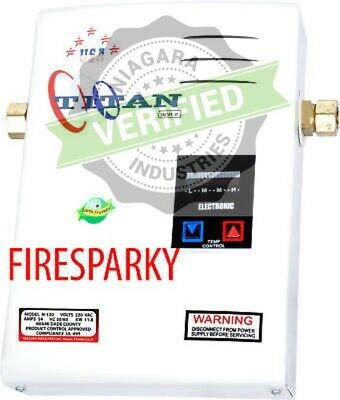 Titan Tankless Water Heater SCR2 Free FEDEX Shipping