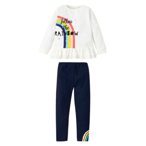 Details about  /Winter Kids Girls Loungewear Print Sweatshirt Top Pants Casual Outfit Clothes