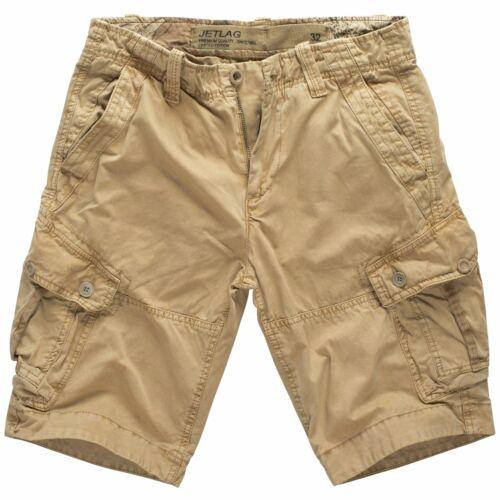Herren Shorts Cargo Hose Bermuda Herrenhose Sommerhose knielang Jet Lag 19-312