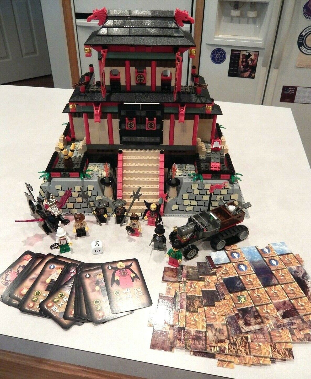 Lego 7419 Dragon Fortress Adventurers Orient Expedition 100% Complete