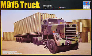 Trumpeter-M915-M-915-TRUCK-Contenedor-Camion-1-3-5-Kit-construccion-modelo-ART