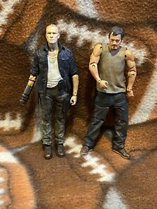 walking dead figures daryl and merle dixon figure loose
