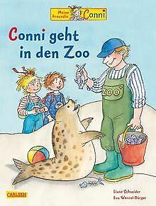 Conni-Bilderbuecher-Band-9-Conni-geht-in-den-Zoo-von-Sc-Buch-Zustand-gut