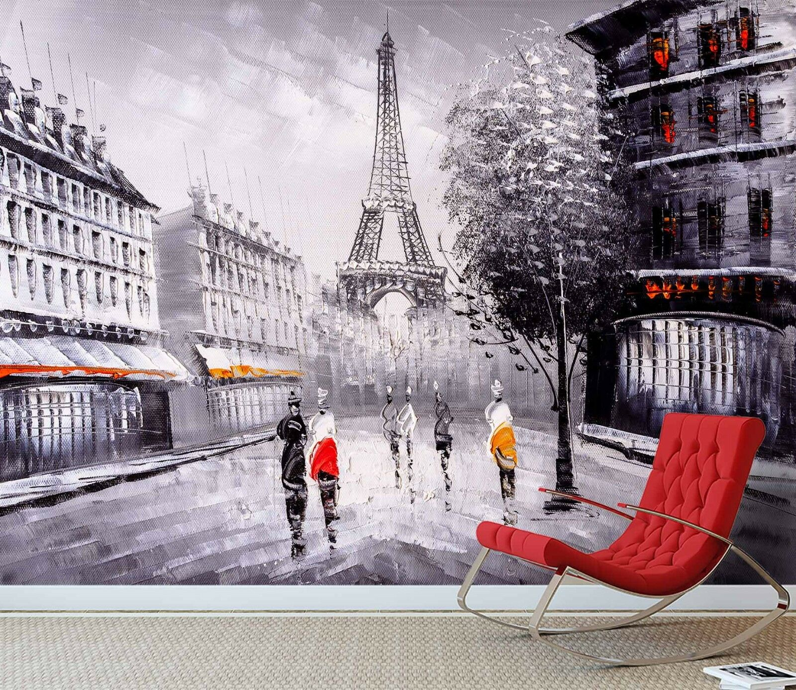 3D Paris Street View Paint 56 Wall Paper Wall Wall Wall Print Decal Wall Deco Indoo Murals 00974a
