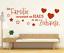 X4529-Wandtattoo-Spruch-Die-Familie-Haus-Zuhause-Sticker-Wandaufkleber-Aufkleber Indexbild 1