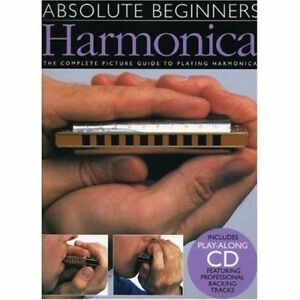 LEARN-HOW-TO-PLAY-HARMONICA-BEGINNERS-SHEET-MUSIC-BOOK-amp-CD-BLUES-MOUTH-ORGAN