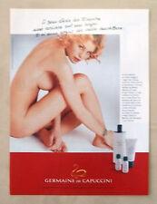 B280-Advertising Pubblicità-1999 - GERMAINE DE CAPUCCINI