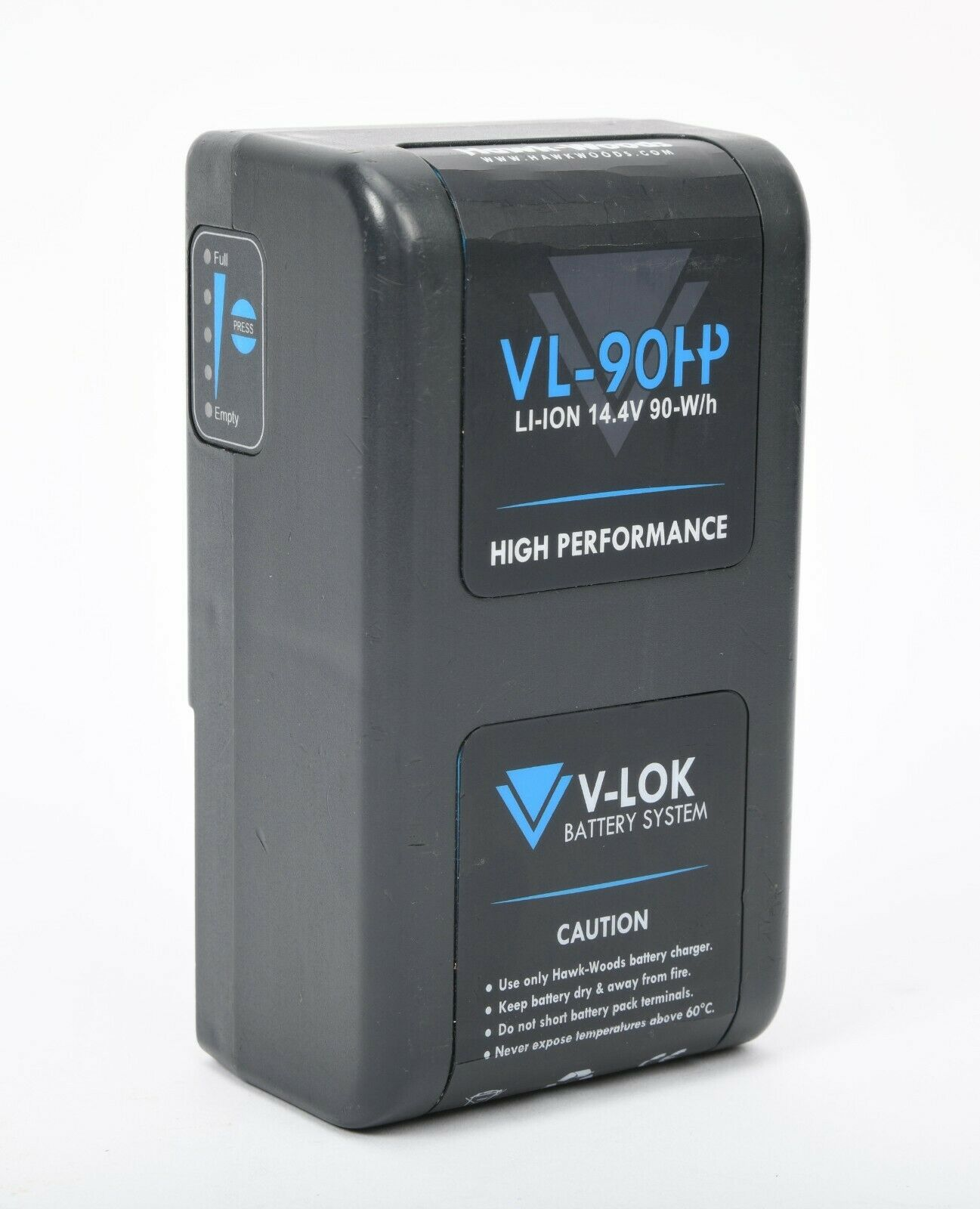 Hawk-Woods VL-90H 90Wh 14.4V V-Mount High Performance Lithium-Ion Battery