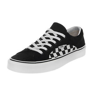 5feacafd321fe6 Caricamento dell immagine in corso Vans-Sneakers-Ua-Lampin-Checker-Cord- Black-True-