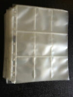 Trading Card Storage Wallet Sleeve Album Page 9 Pocket Max Pro BOX OR CHOOSE QTY