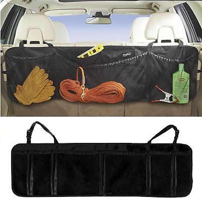 Car Seat Back Organiser Multi-Pocket Travel Storage Bag Hanger Holder Pouch BLK