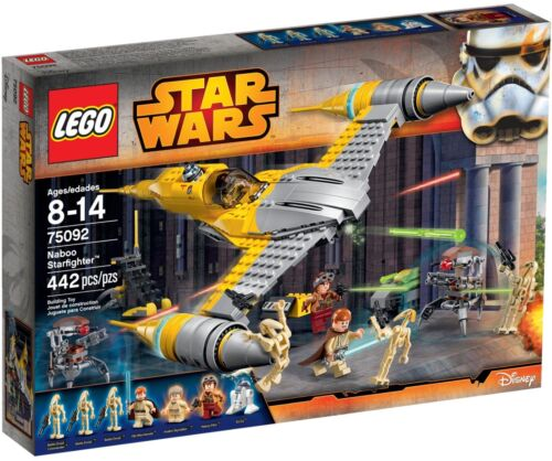 NEW /& SEALED * LEGO® Star Wars 75092 RETIRED SET Naboo Starfighter™