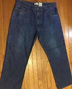 Member's Property 42x34 Tag Men's Jeans Measures 40x31 BlueCotton Blend 536