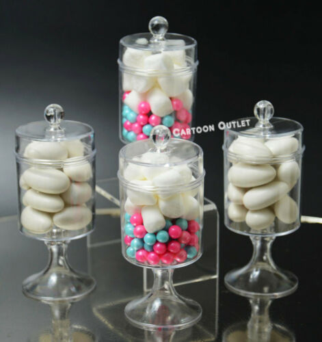 12 PC FILLABLE CANDY CONTAINER PARTY FAVORS WEDDING BABY SHOWER BIRTHDAY 15 ANOS