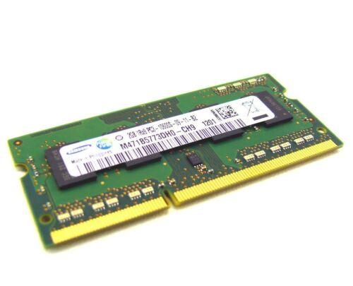 1 von 1 - 2GB Samsung DDR3 1333 Mhz Netbook RAM 204pin SODIMM PC3-10600S M471B5773DH0-CH9