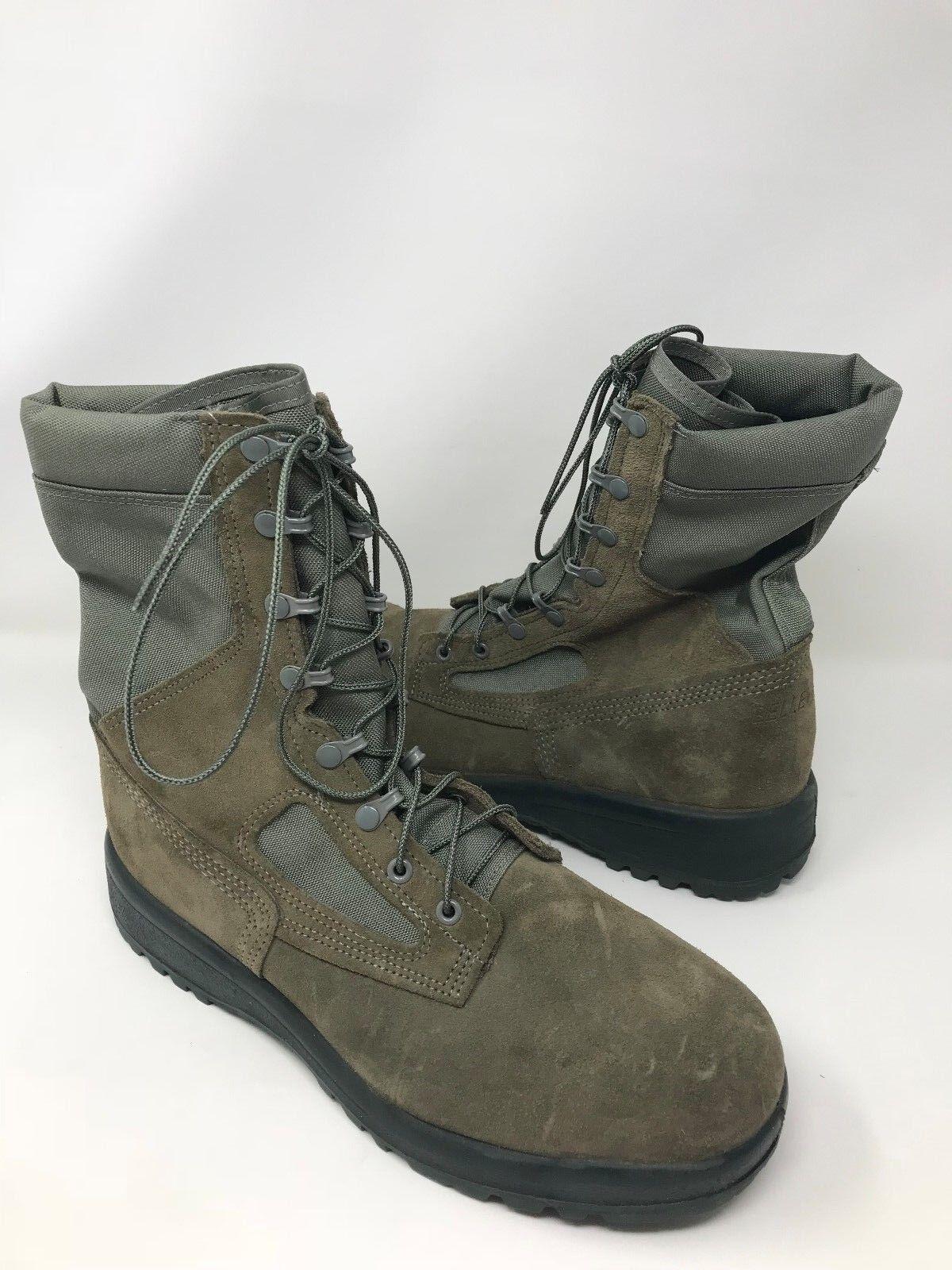 New  Damenschuhe Belleville F600 ST Hot Weather Steel Toe Combat Boot Sage M17