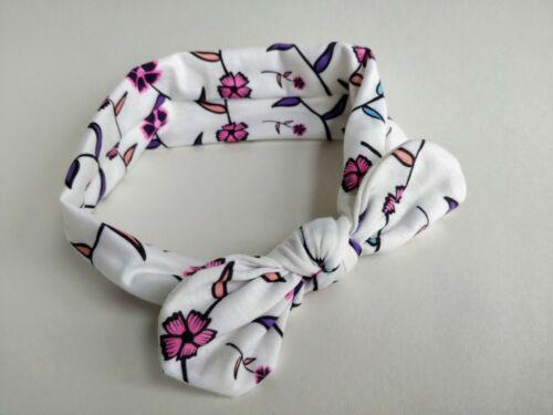 Baby Headbands 3pcs Set Infant Toddlers Girls Elastic Headdress Hairbands Bow UK