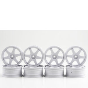 1-10-jantes-rayons-s-TE37-blanc-24-mm-piece-8-Route-246-KYOSHO-r246-4111-704399