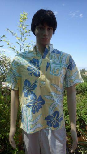 Kahala HRH Hawaii Hawaiian Aloha Easter Shirt Trop