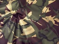 Waterproof 4oz NYLON Fabric Material PU Coated - CAMOUFLAGE