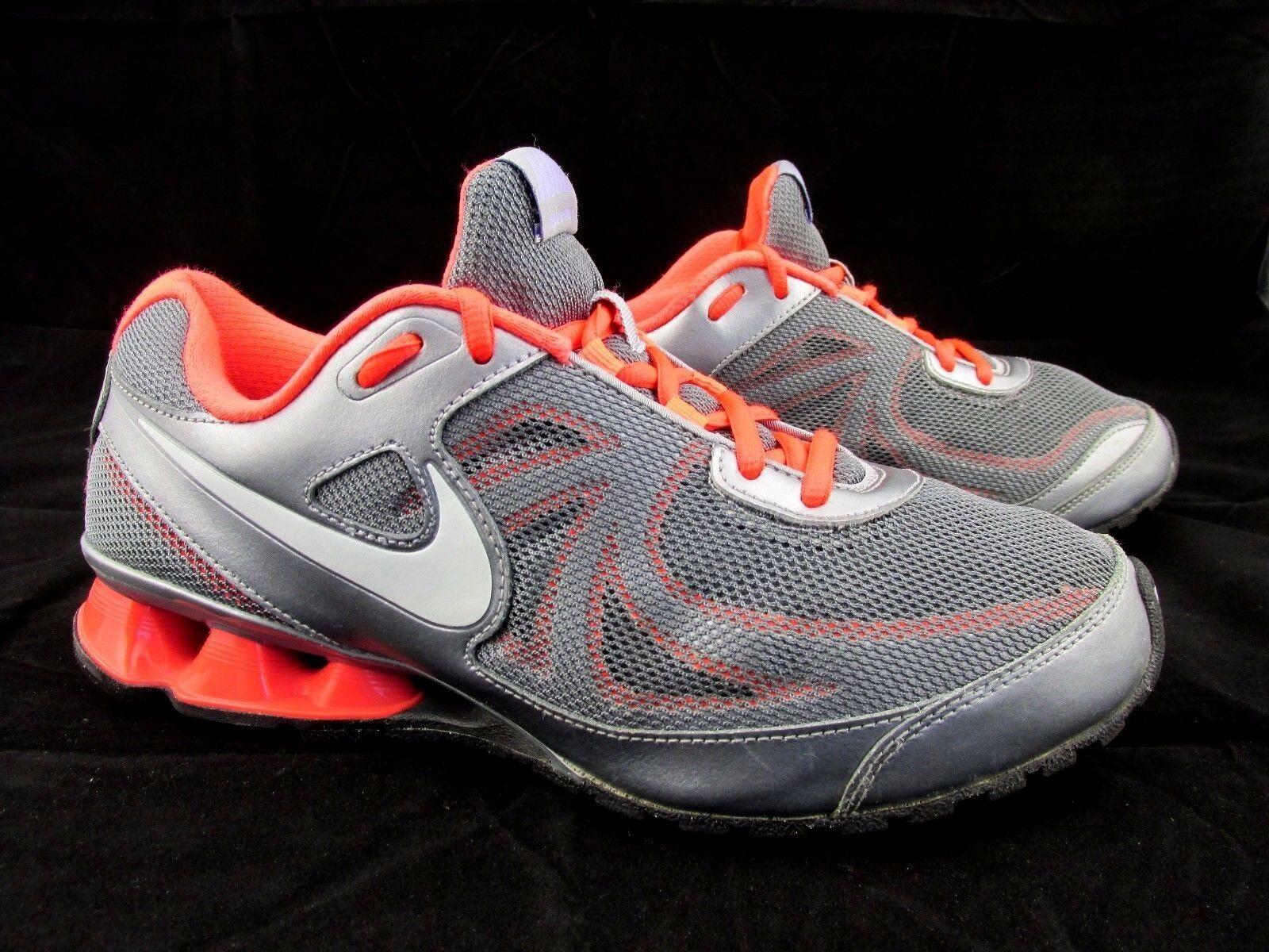 Nike reax correre 7 gray delle scarpe sintetiche Uomo