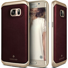 For Samsung Galaxy S7 Edge Caseology® [ENVOY] Shockproof Leather Case Cover