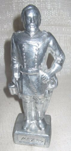 """Lee statue alum 7-3//4/"""" tall Details about  /Hobby Project Confederate Civil War General R E"""