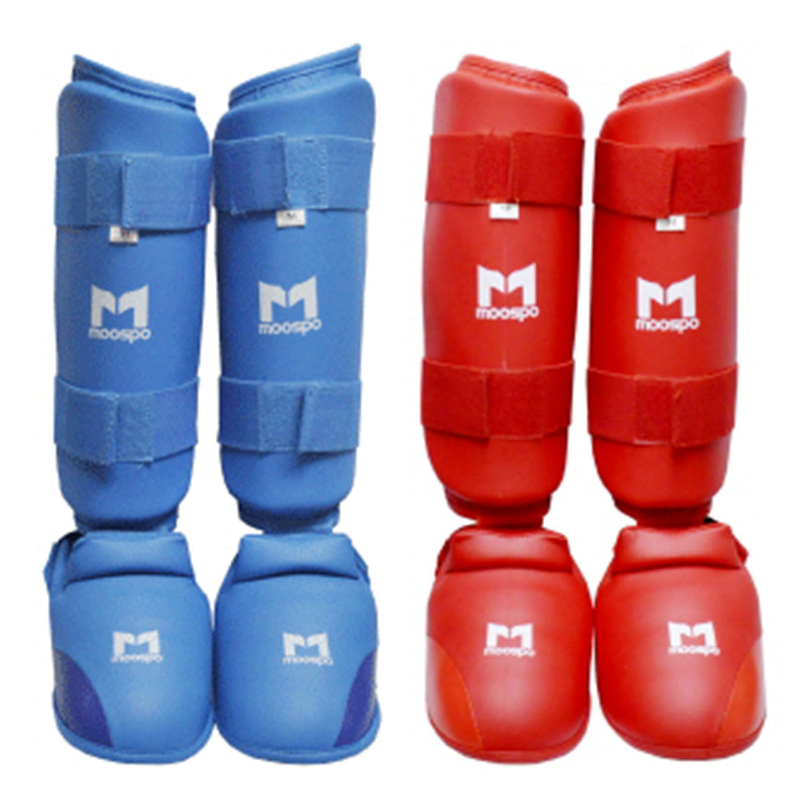 Karate Instep Shin Predectors Guards Pads  Paddings Hook Loop Closure MMA Kongsoo  export outlet