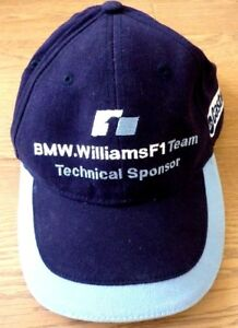 BMW Williams F1 Team Blue Baseball Cap Technical Sponsor 100% Cotton ... 037ba5ff2b