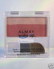 Almay Wake Up Blush & Highlighter Powder Cheek Color - Berry 030