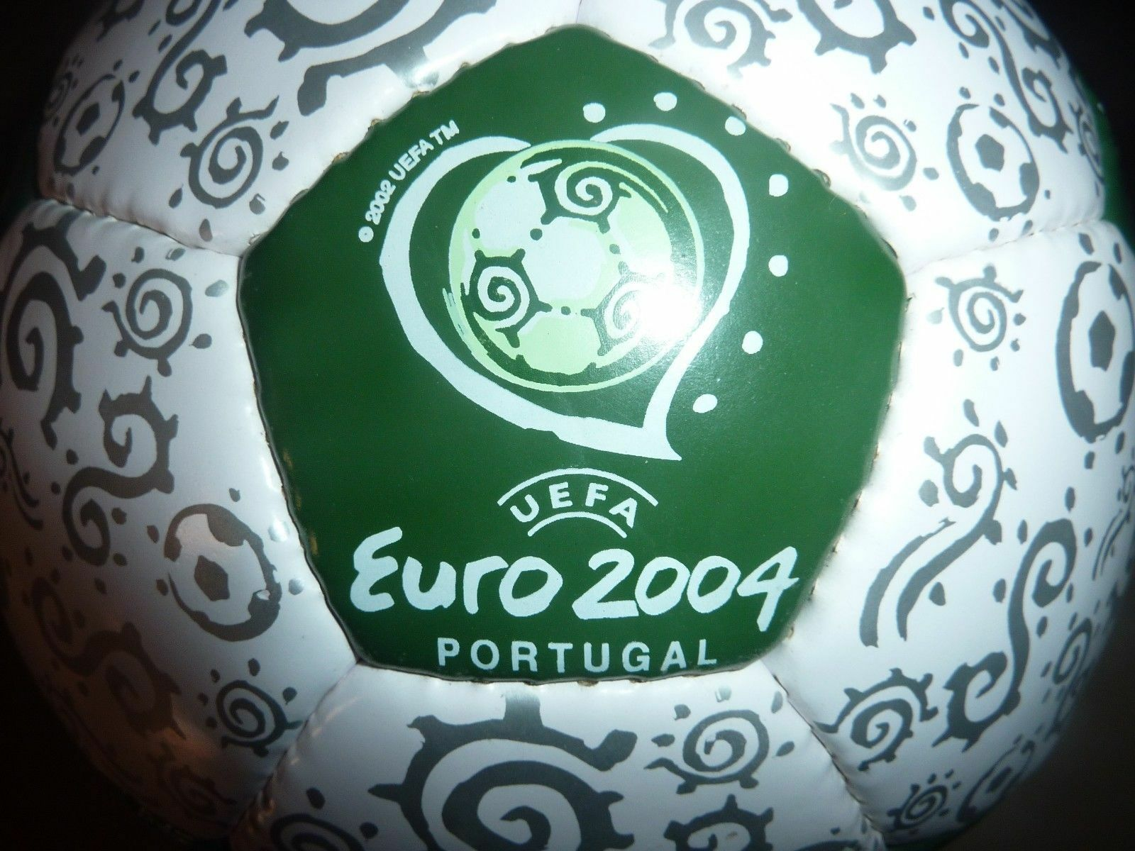 UEFA euro 2004 Portugal Pelota De Fútbol Balonpié Tamaño 5-Ultra Poco común