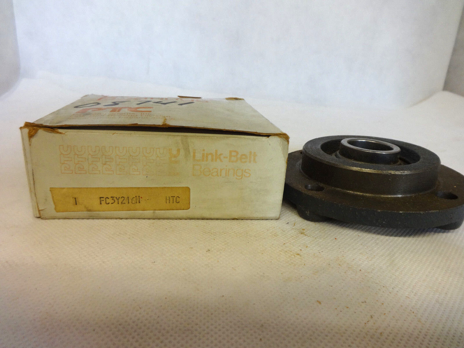 NEW IN BOX LINK-BELT FC3Y216N BALL BEARING FLANGE UNIT SIZE 1