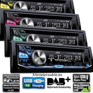 JVC-KD-DB97BT-mit-DAB-Antenne-Bluetooth-Autoradio-CD-MP3-USB-digital-Radio