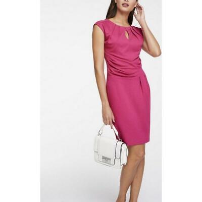 ashley brooke jerseykleid elegantes freizeitkleid abendkleid pink gr 48 neu  ebay