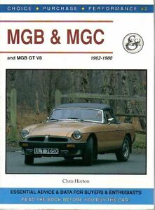 Details about MG MGB + GT V8 MGC Choice Purchase Performance 1962-80 Advice  & Data for Buyers