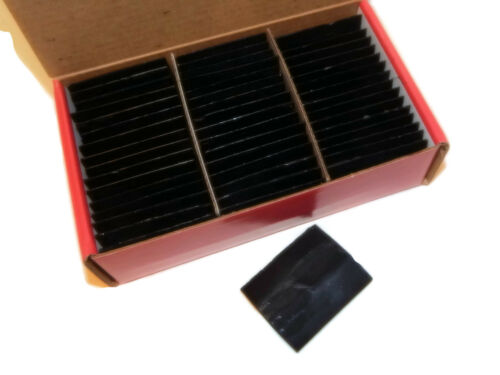 Carmel Super-Glide Tailors/' Chalk Black Color 48 pcs Fast Shipping from US