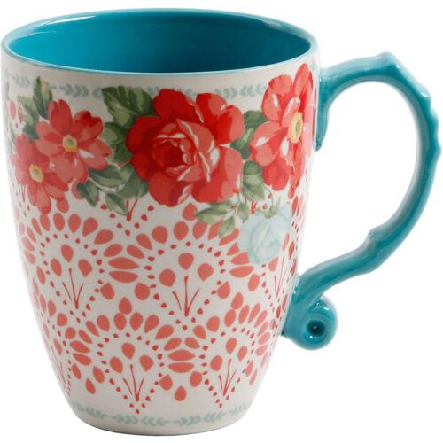 Lot de 4 Pioneer Femme Vintage Floral 26 oz Jumbo Grande Tasse à Café Latte Mug environ 737.07 g