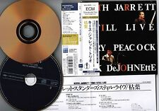KEITH JARRETT Still Live JAPAN 24k GOLD Mini LP 2CD set w/OBI+INSERT UCCE-9006/7