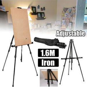 3-Stage-Telescopic-Leg-Adjust-Easel-Display-Tripod-Draw-Board-Exhibition-Stand