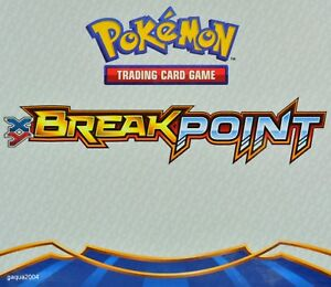 Pokemon-XY-Breakpoint-Trainer-cards-Choose-from-list-Single-or-4-Card-Playset